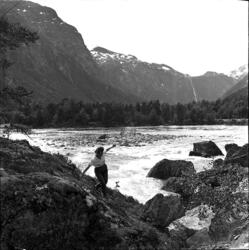 Ved Rauma i Romsdalen.