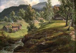 Fra Lysekloster [Maleri]