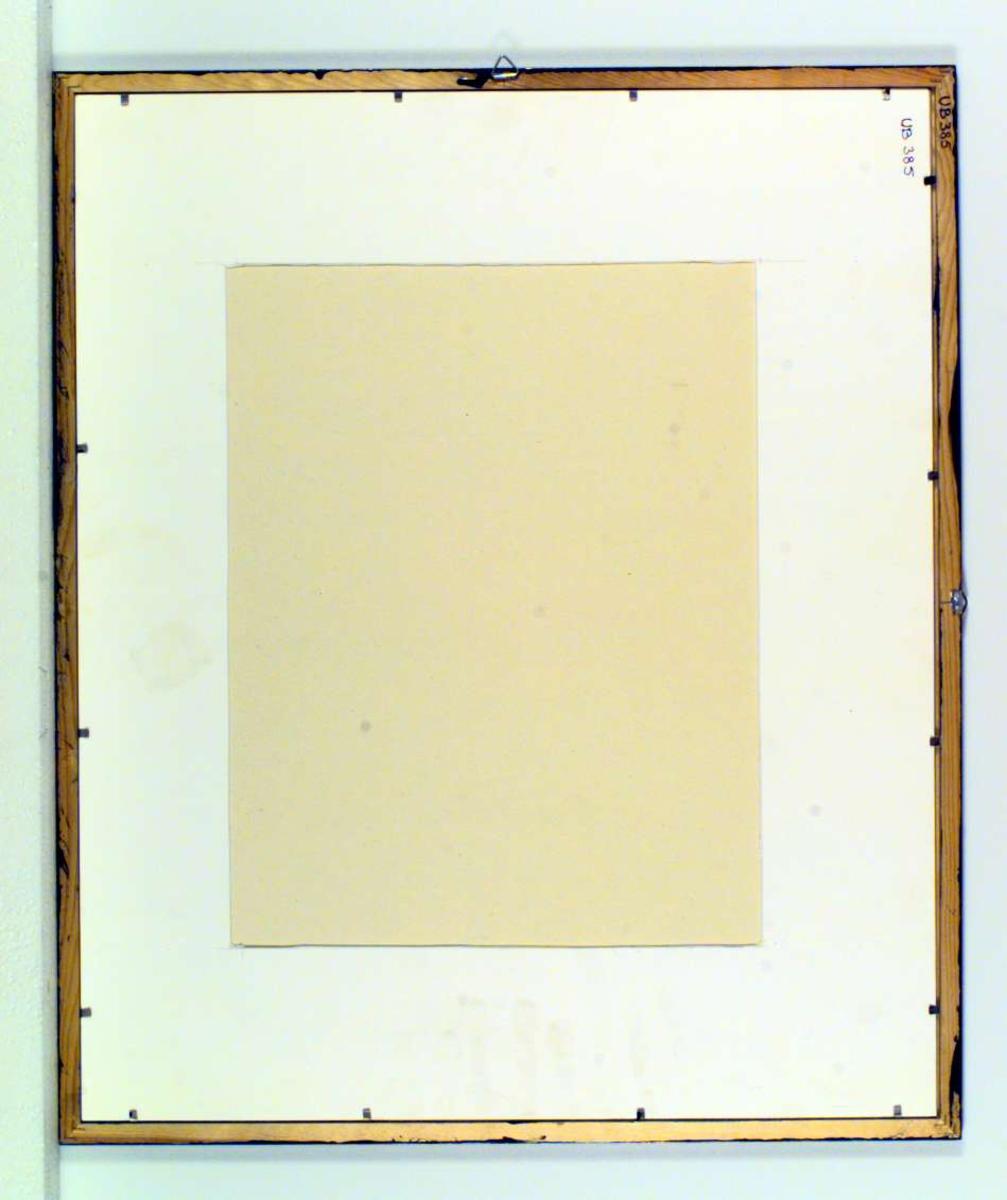 Et nonfigurativt bilde som fremstiller 'dagen derpå i Edens have'.