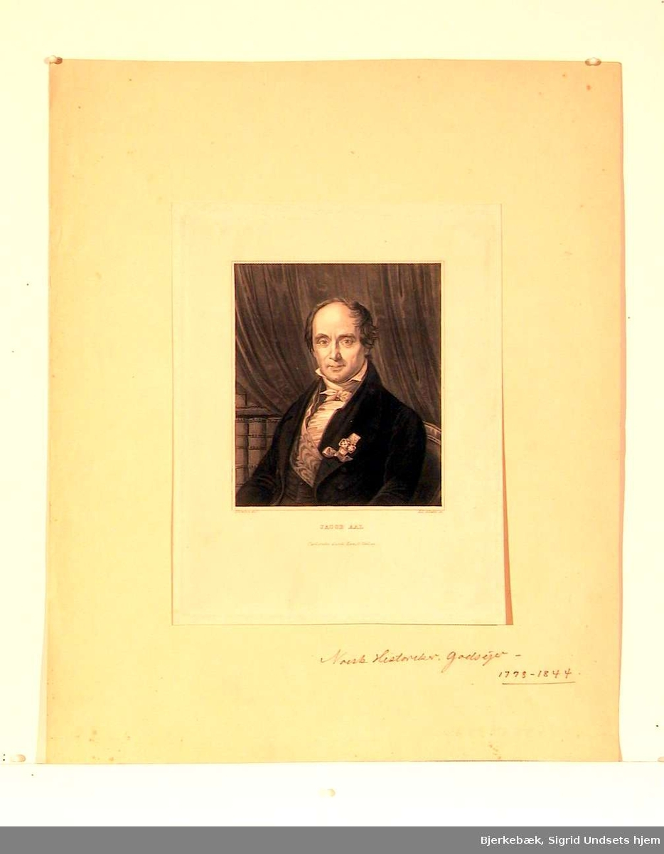 Portrett av Jacob Aal.