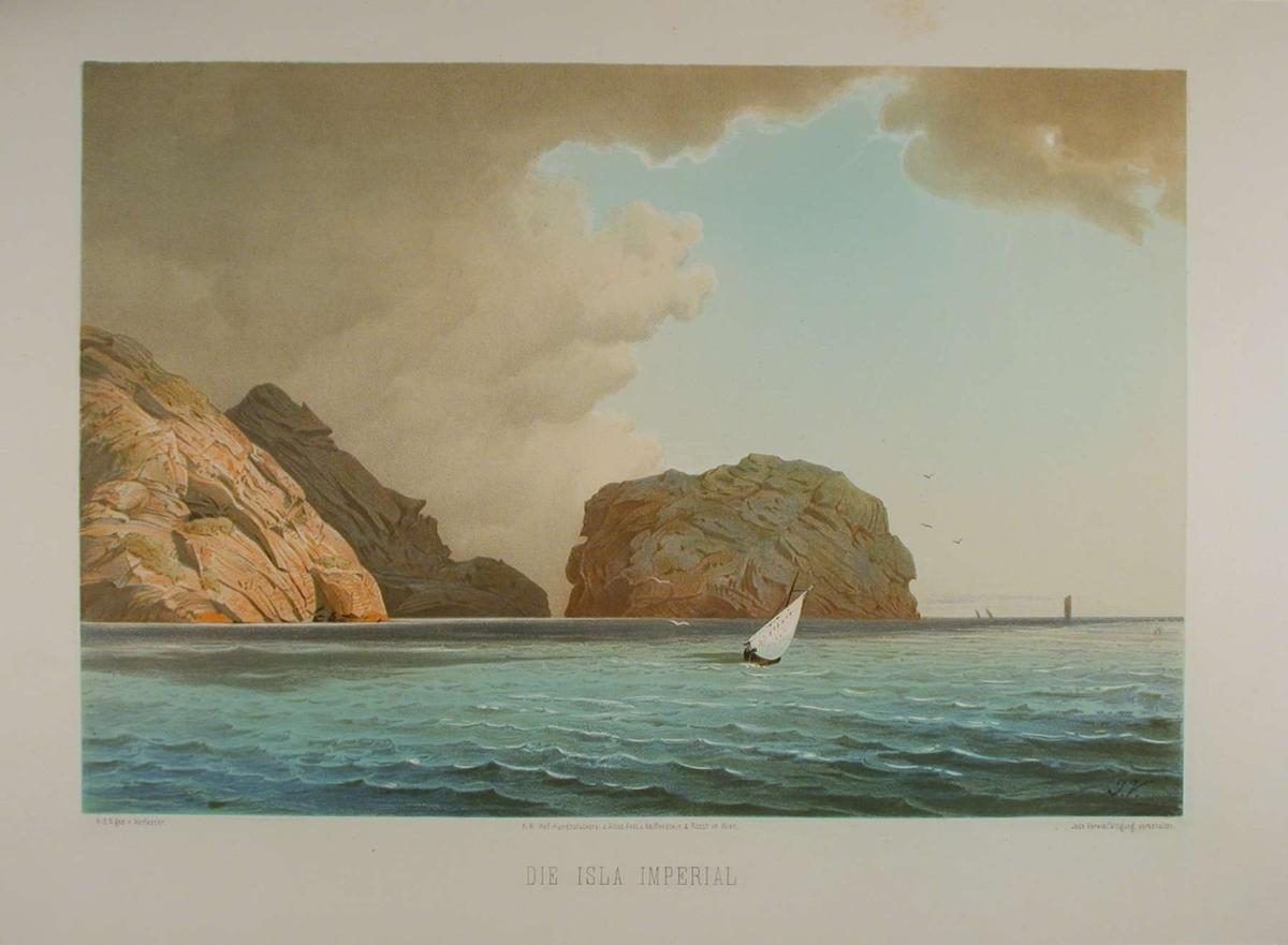 Fjellknauser og sjø