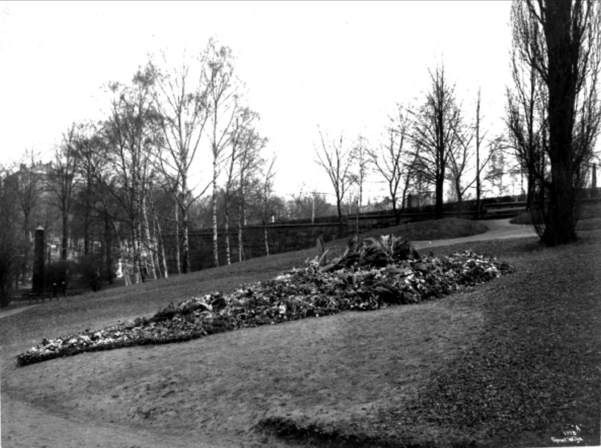 Vår Frelsers gravlund, kirkegård, grav, blomster,
