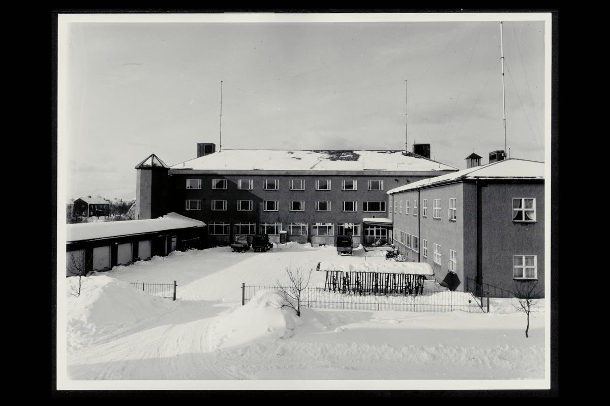 eksteriør, postkontor, 8000 Bodø, gårdsrom