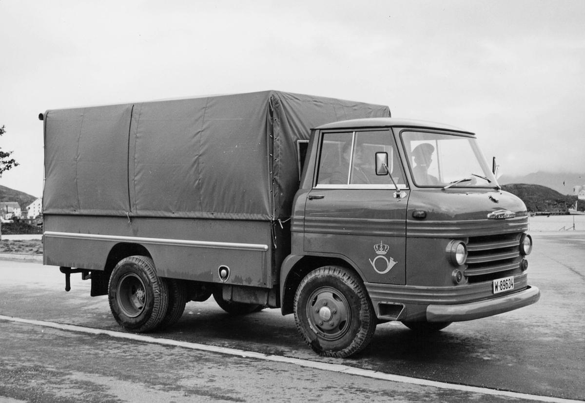 transport, bil, lastebil, kapell, postemblem