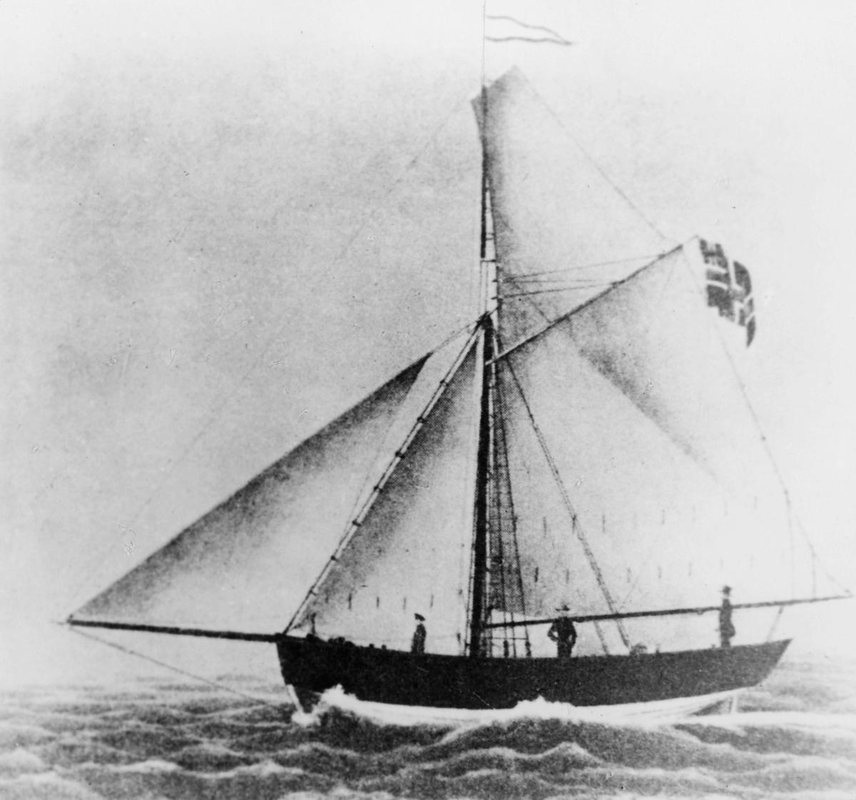 transport båt, eksteriør, Haabet