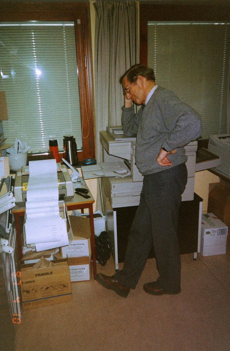 begrepet personale, Postmuseet, fagsjef Helge Tollum