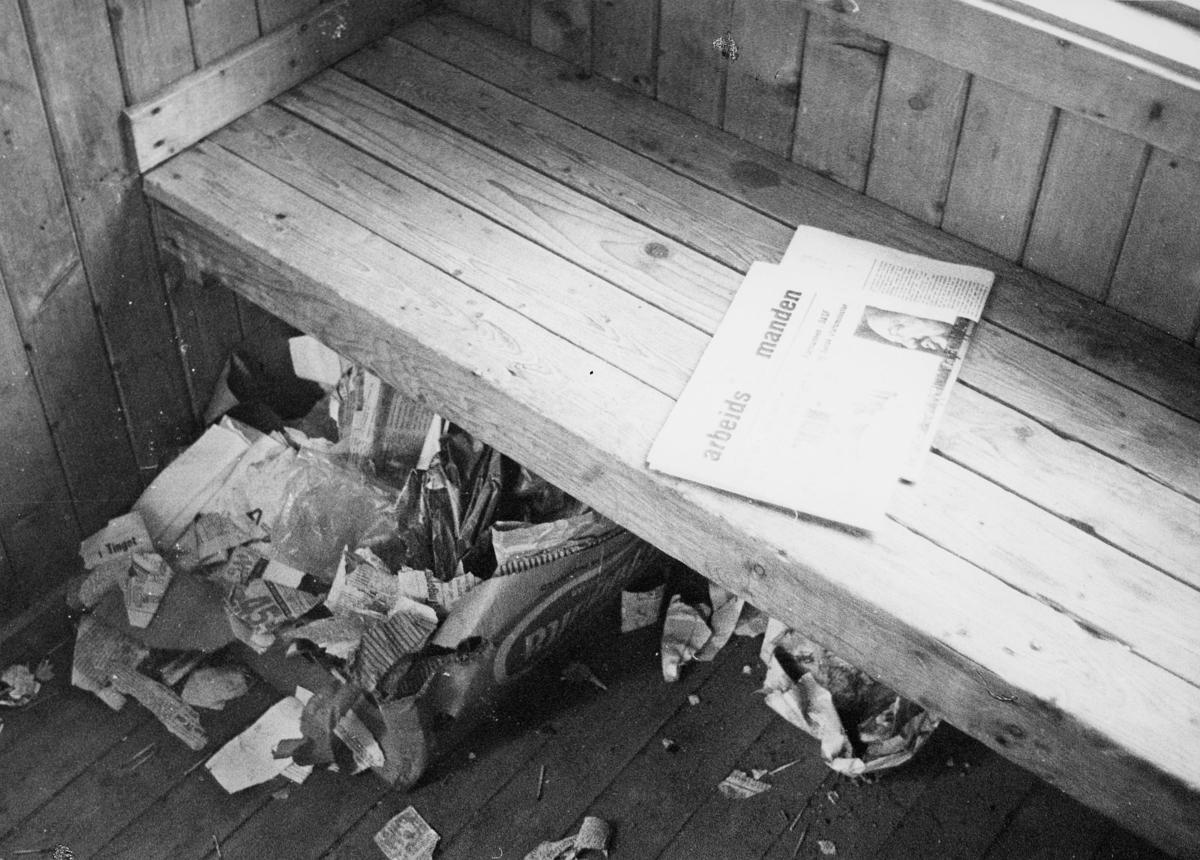norgesbilder, 8230 Sulitjelma, avfall