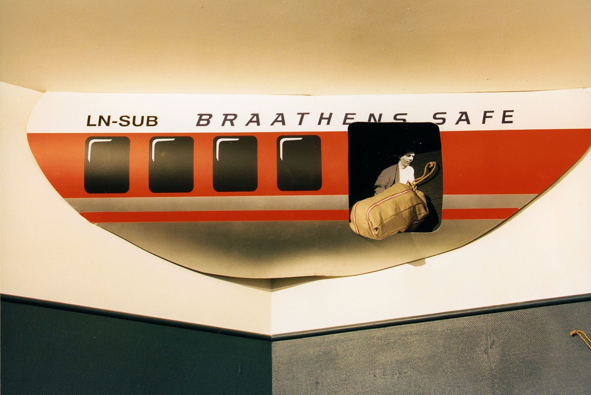 Postmuseet, Oslo, utstilling, flypost, postsekk