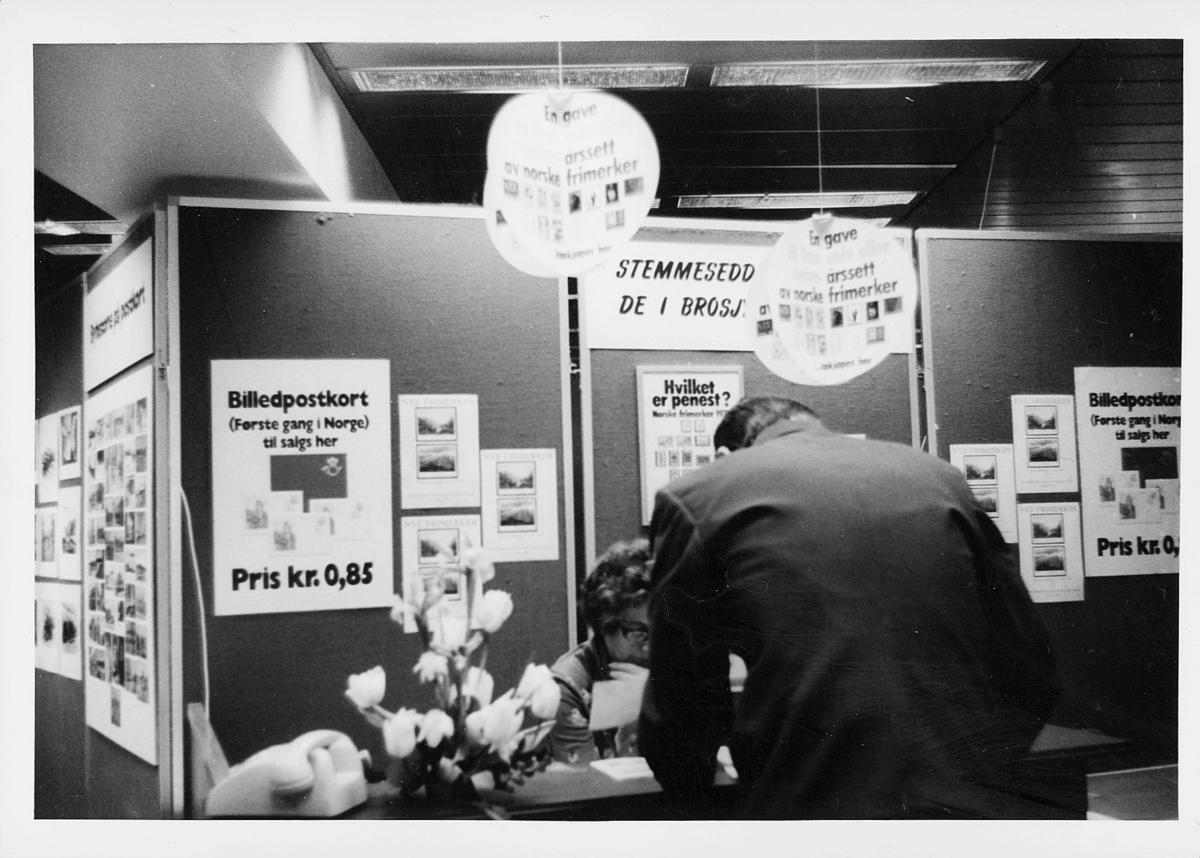 markedsseksjonen, Oslo postgård 50 år, utstilling, filateli