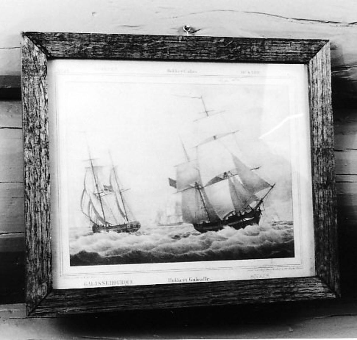seilskip, unionsflagg Hukkert