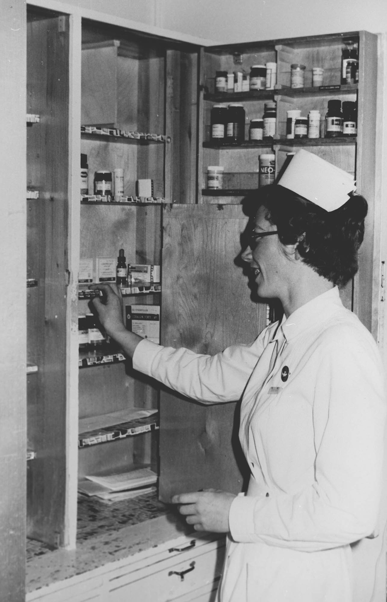 Diakonsykehuset, søster Gerd Grønning Kyrkjeeide.