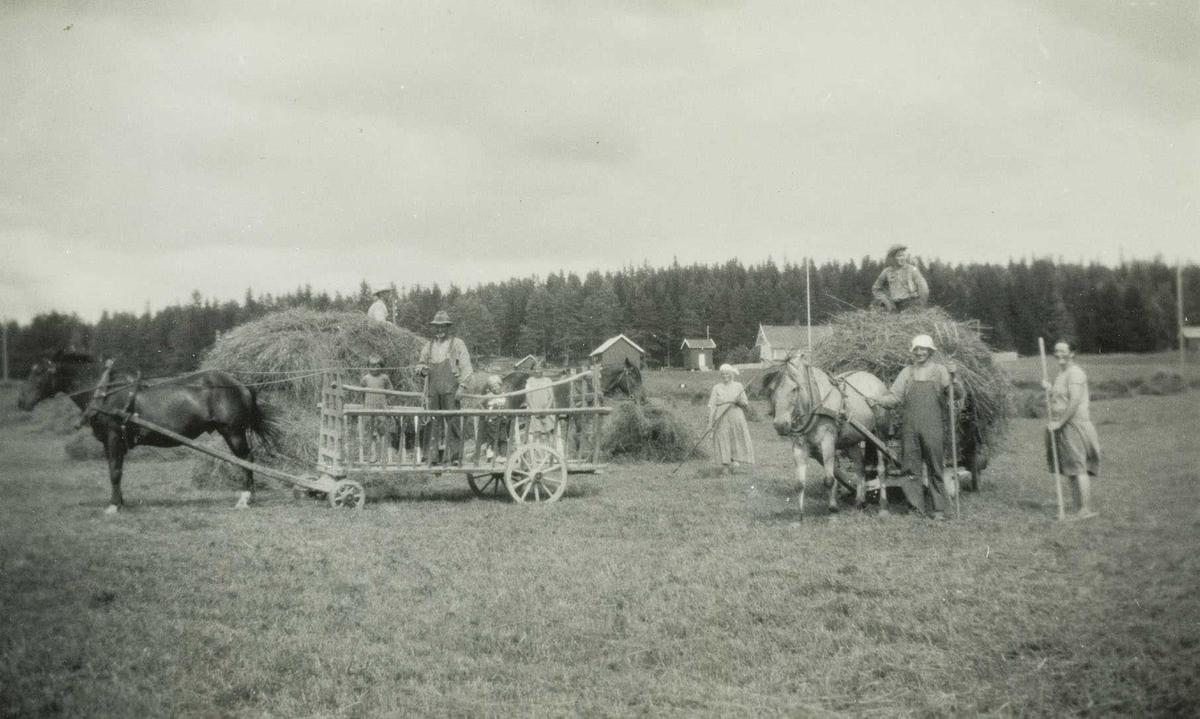 Slåttonn i 1932