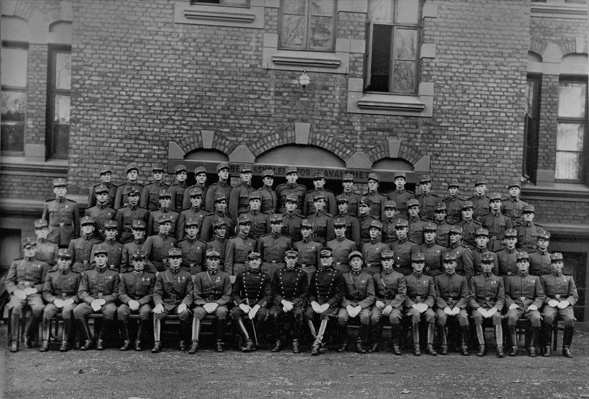 Befalsskolen for kavaleriet.