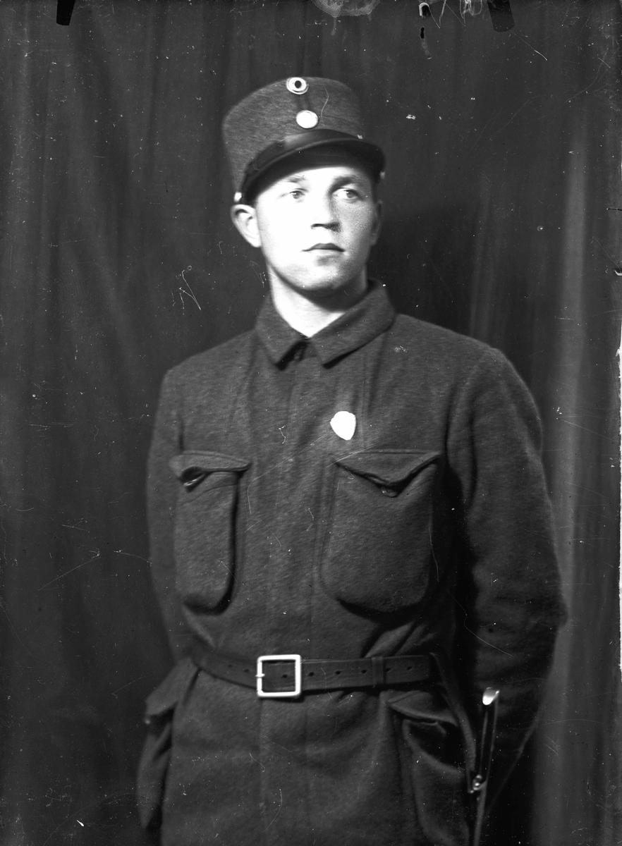 Portrett. Soldat