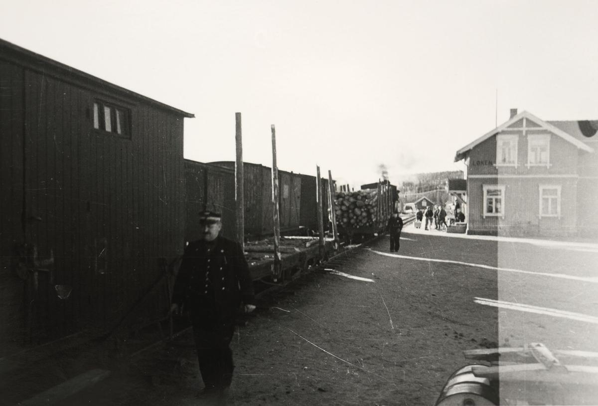 Blandet tog retning Skulerud.