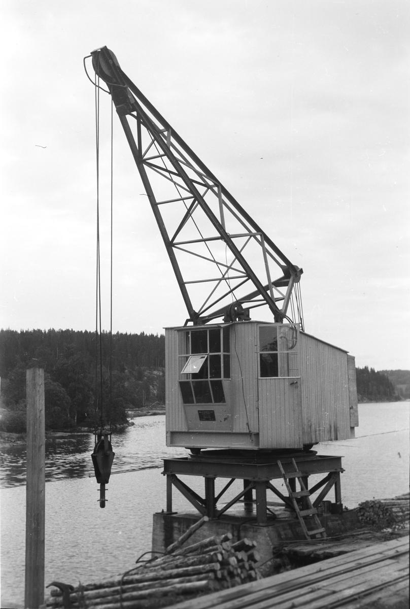 Stasjon Skulerud (tømmerkran).