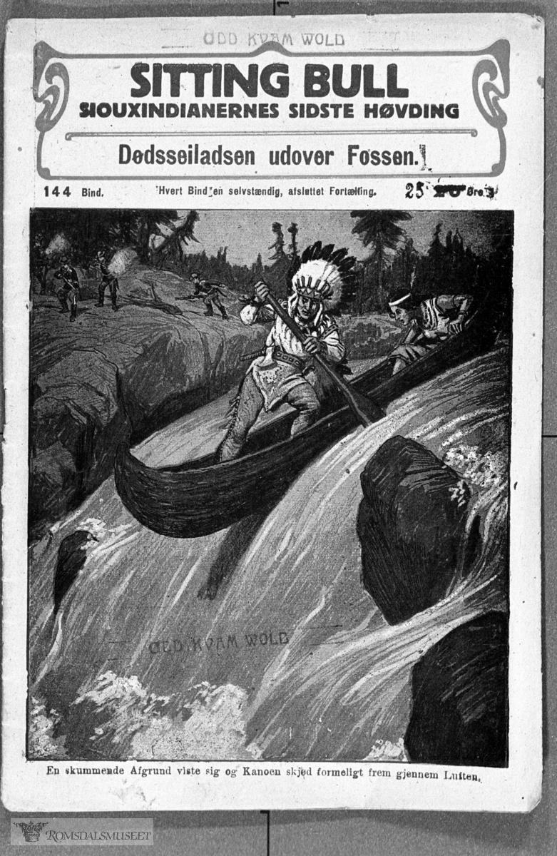 """""""Sitting Bull"""" omslagsbilde."""