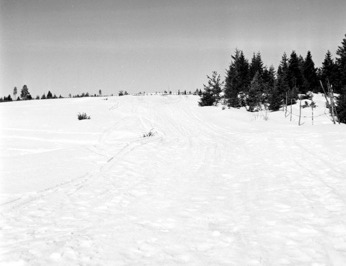 Hovindberget, Hernes, vinter