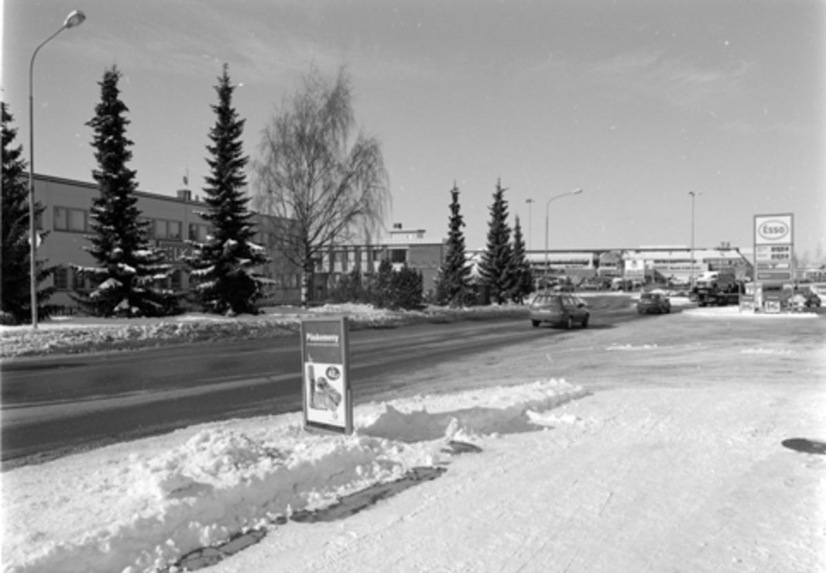 ASLAK BOLTS GATE, OVERSIKT MOT MAXI STORSENTER