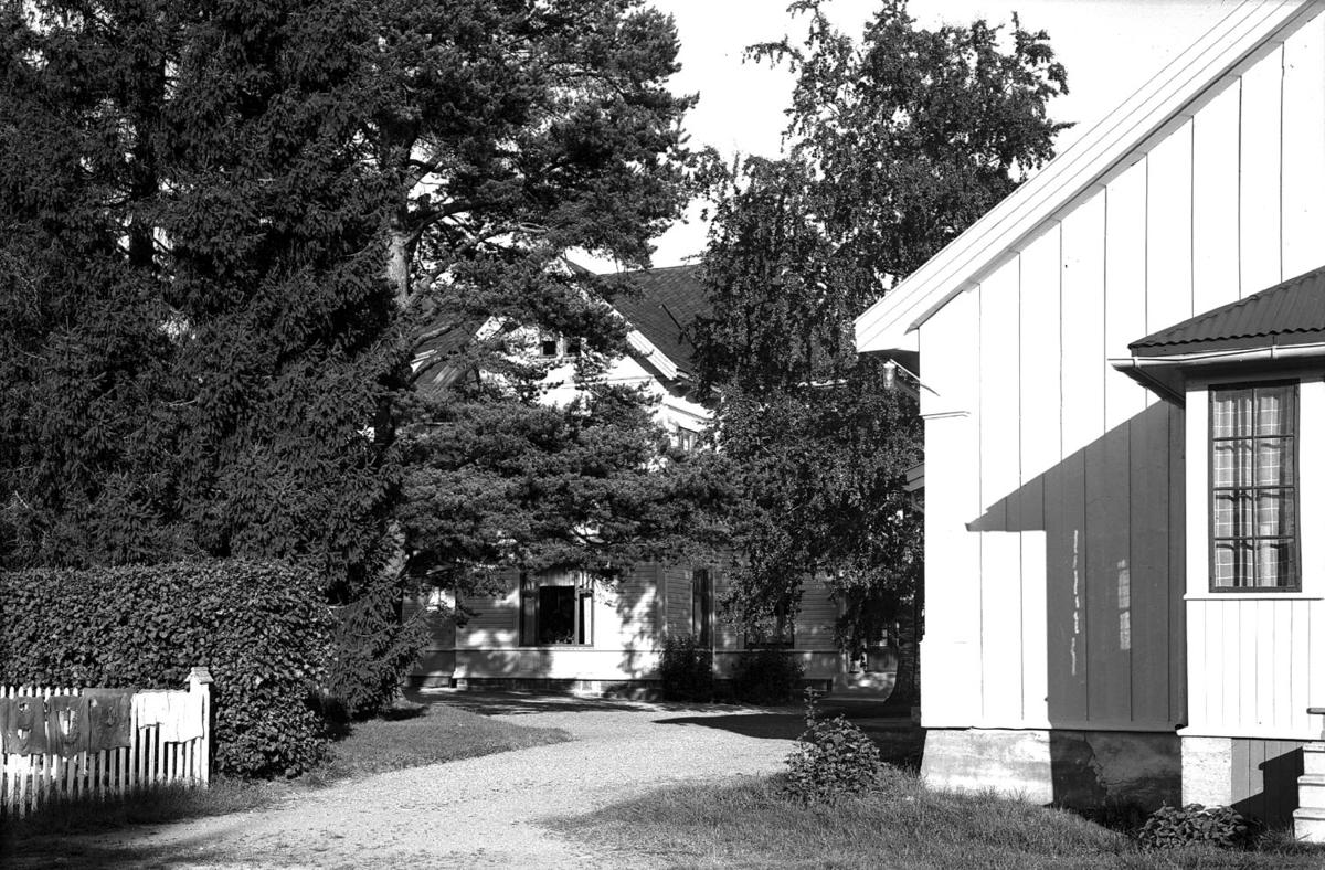 Innkjøring til et hus