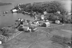 Børøysundet, Hestvika med kaianlegg og bebyggelse.