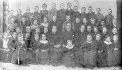 Kveberg skolekrets 1898.