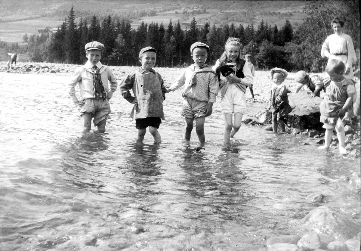 Barn bader