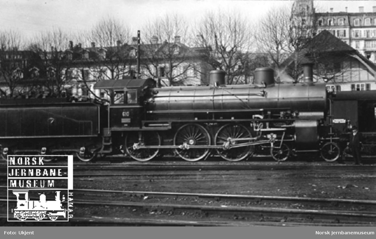 Sveitsisk damplokomotiv type A3/5 nr. 610