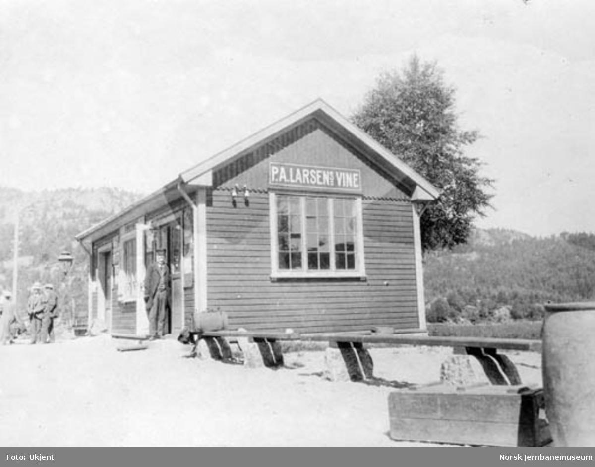 Stasjonsbygningen på Røyknes