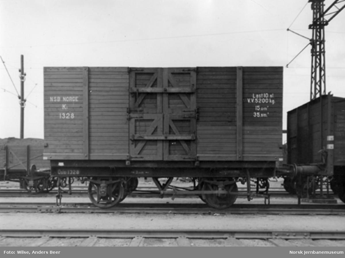 Kassevogn litra K1 nr. 1328