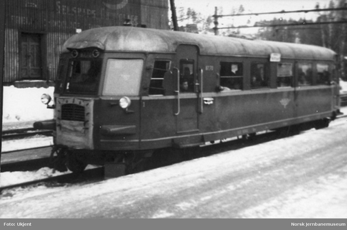 Dieselmotorvogn (skinnebuss) type 87 nr. 87.70