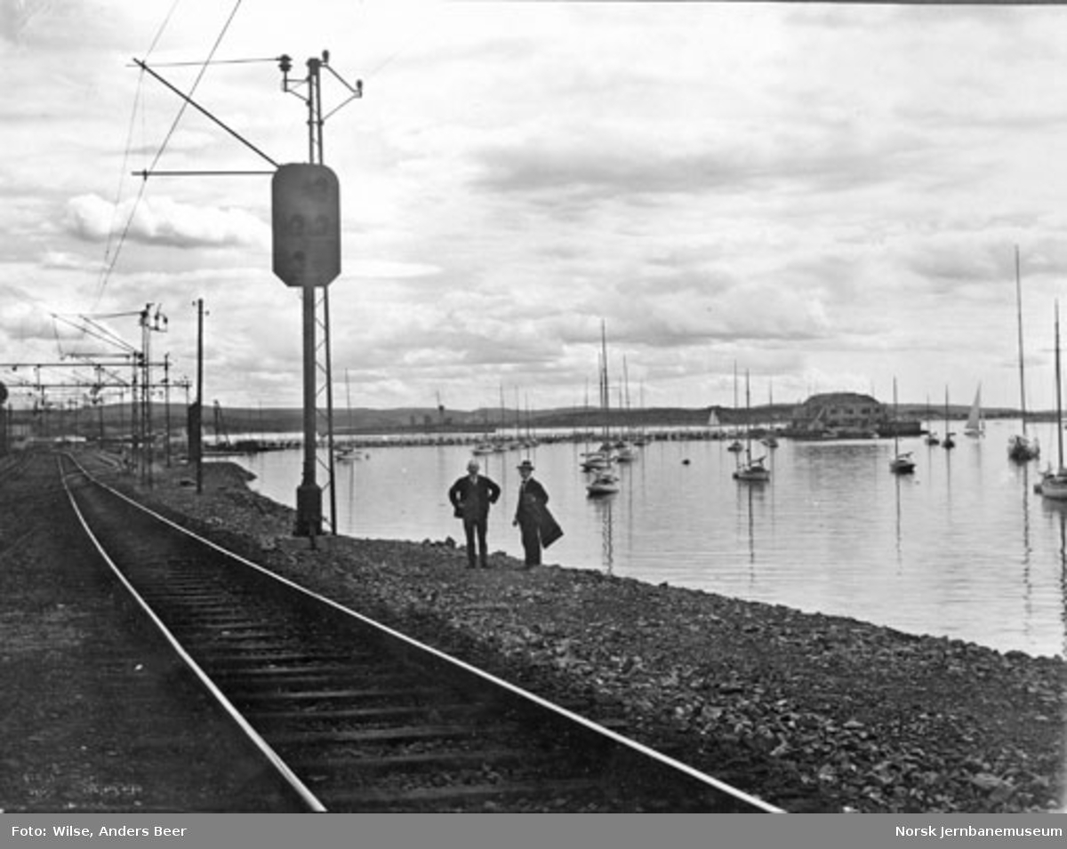Sikringsanlegg Oslo V : innkjørsignal Filipstad