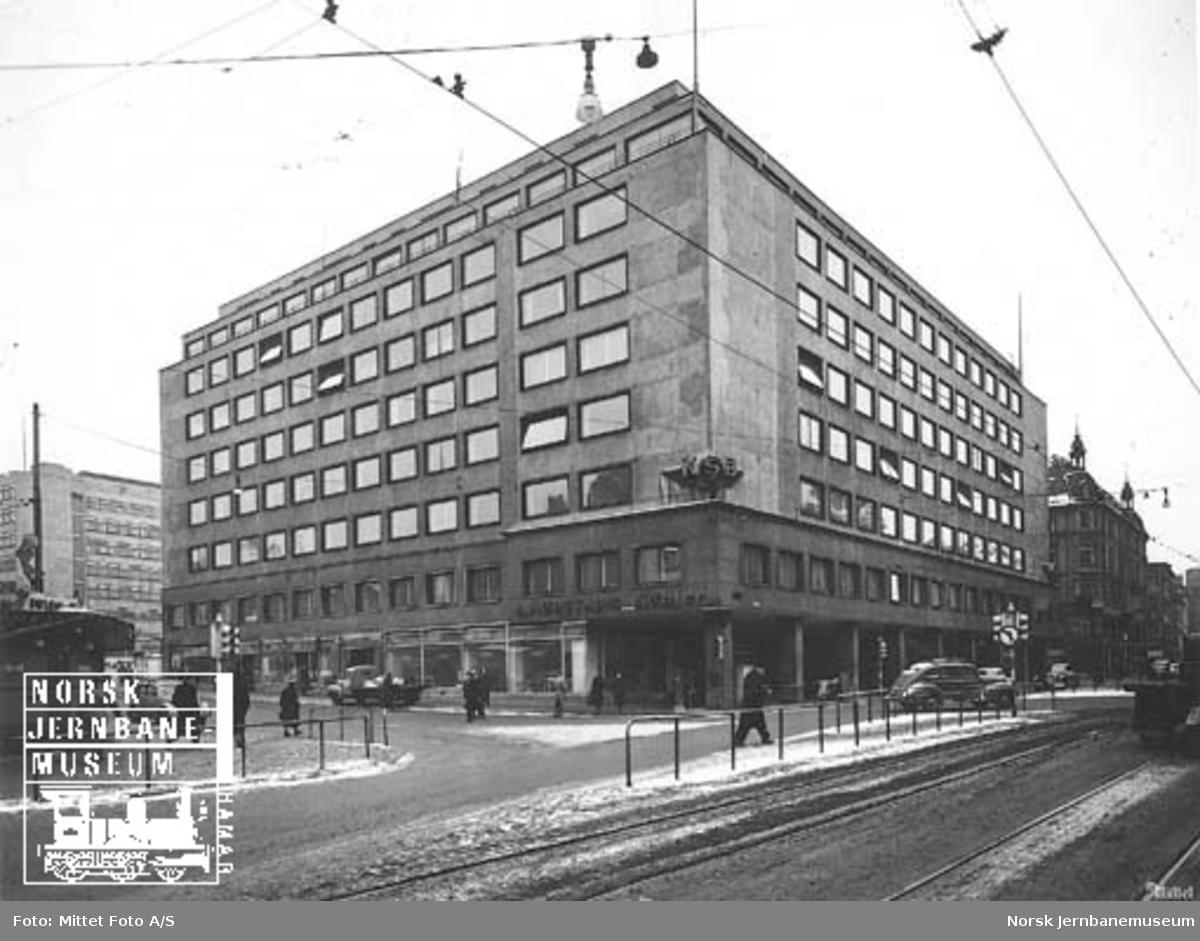 Norges Statsbaners hovedkontor i Storgaten 33, Oslo