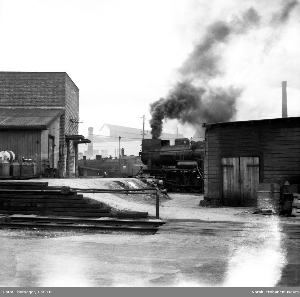 Lokomotivstallen i Hamar