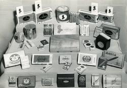 Foto av forskjellige sigarer og sigarillos tatt på Tiedemann