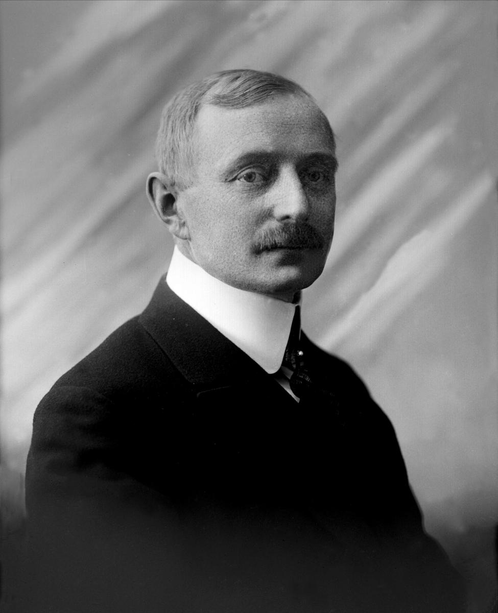 Portrett av Høyesterettsadvokat Didrik Cappelen.