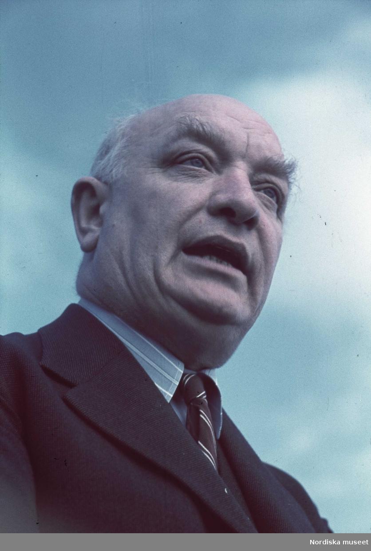 Statsminister Per Albin Hansson.