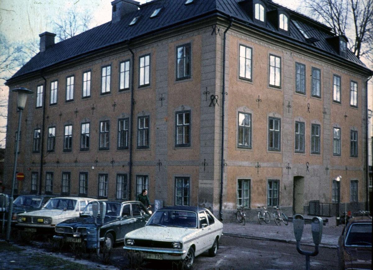 Oxenstiernska huset, kvarteret S:t Erik, Riddartorget, Uppsala 1976
