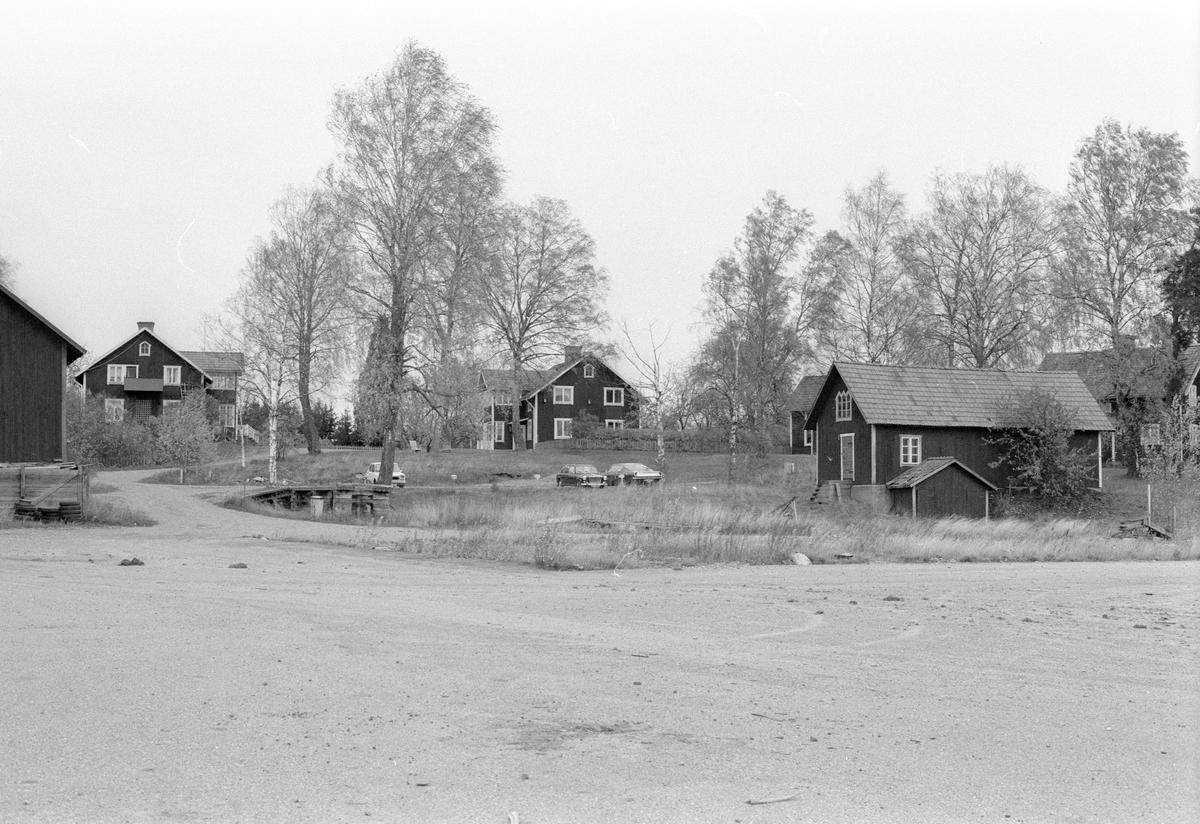 Vy över Ullbolsta 6:4, Ullbolsta, Jumkil socken, Uppland 1983