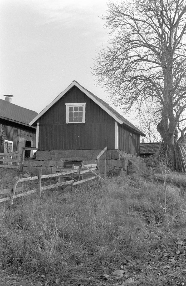 Källarbod, Viggeby 1:1, Dalby socken, Uppland 1984
