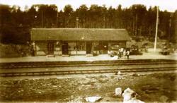 Harestua jernbanestasjon