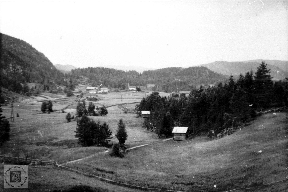 Garden Foss med Leite i Bjelland.