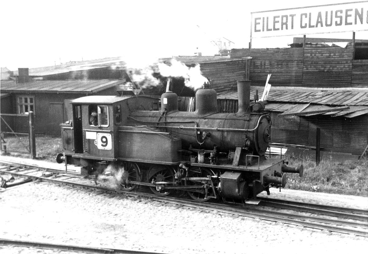Damplok type 23b i skiftetjeneste i Oslo