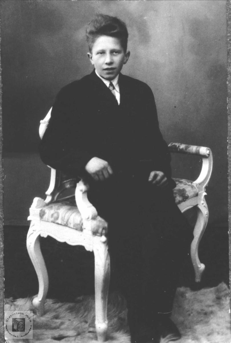 Portrett av Olav Jakobsen Manneråk, Øyslebø.