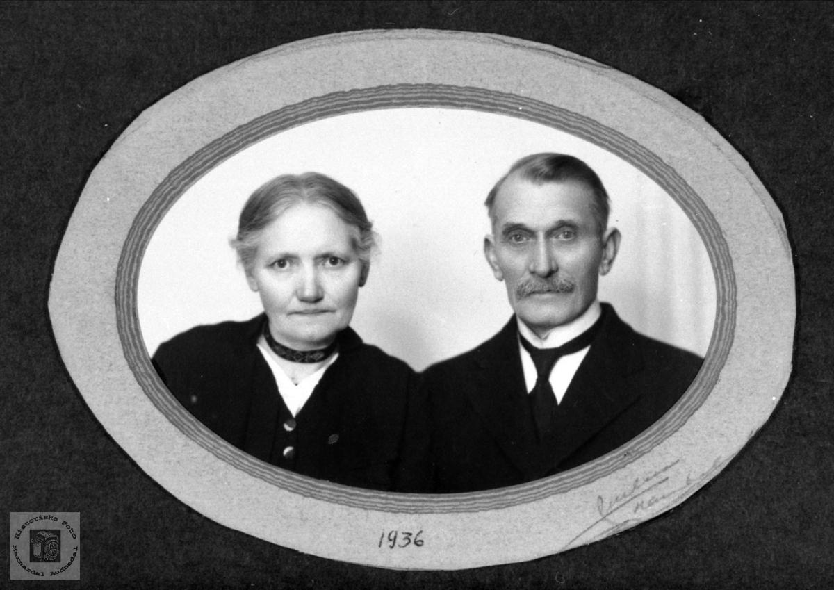 Ekteparet Veline Andrea og Ole Nome