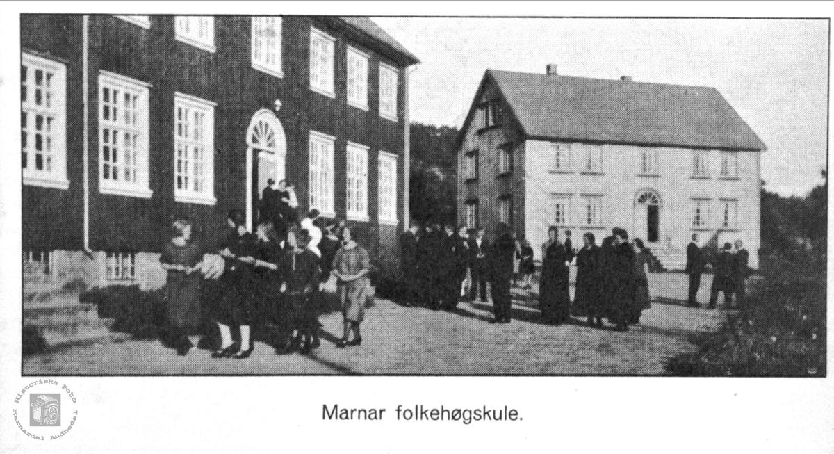 Marnar Folkehøyskole, Høgtun Øyslebø.