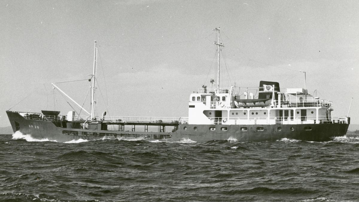 M/T B.P. 28 (b.1958, Glommens mek. Verksted, Fredrikstad)