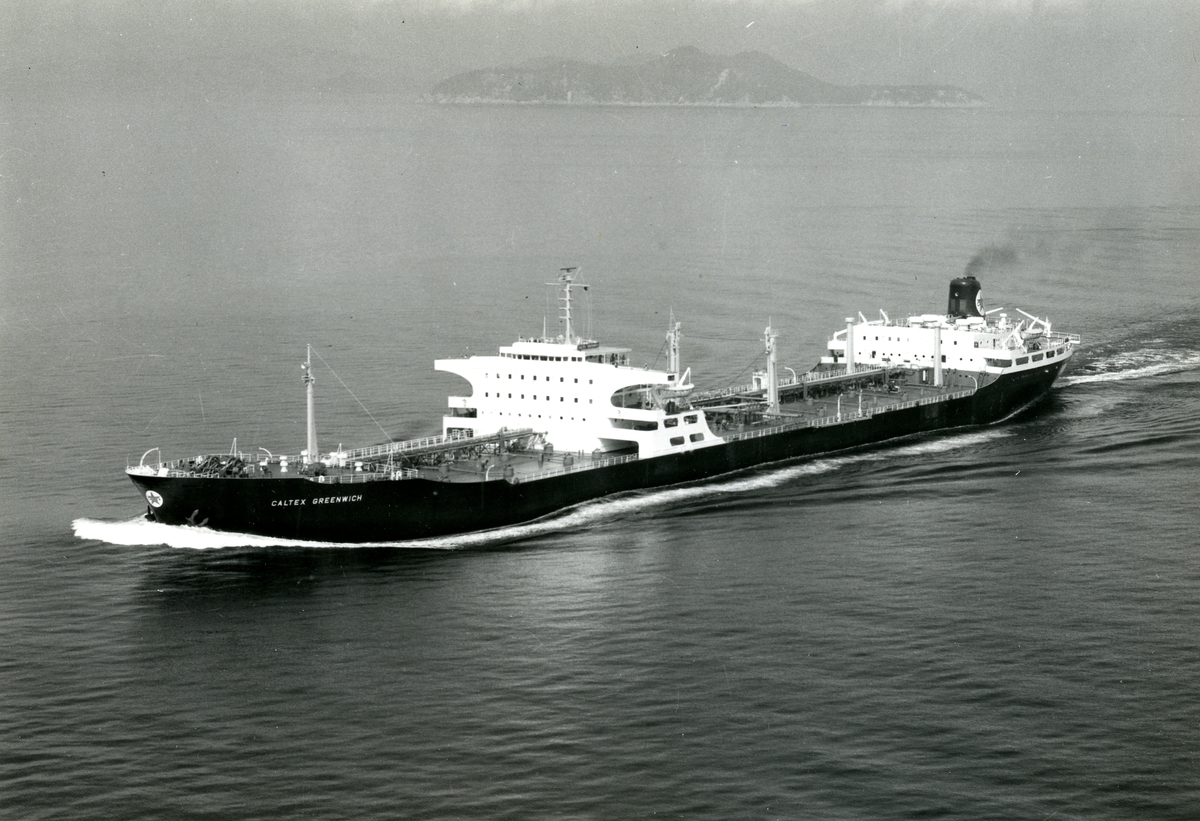 T/T Caltex Greenwich (b.1962, Hitachi Zosen, Innoshima)