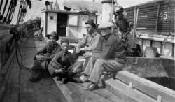 Ombord fraktskonaren TÄRNAN