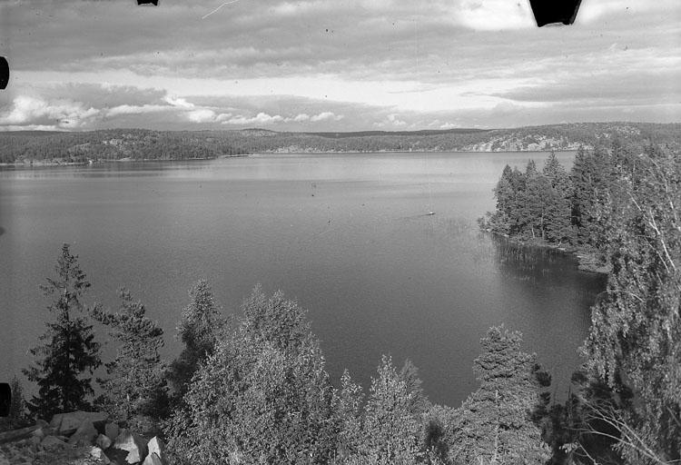 """Enligt AB Flygtrafik Bengtsfors: """"Skee sjön Färingen Bohuslän""""."""